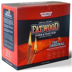 Better Wood Products  Fatwood  Pine Resin Stick  Fire Starter  5 lb.