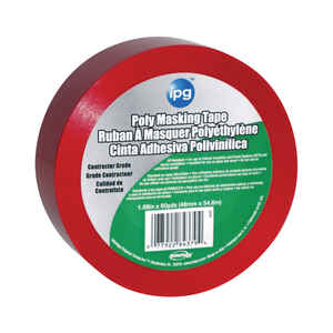 IPG  Stucco  1.88 in. W x 60 yd. L Red  High Strength  Masking Tape  1 pk