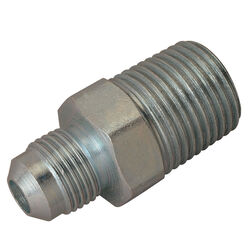 BrassCraft 1/2 in. 3/8 in. Dia. Stainless Steel Gas Fitting