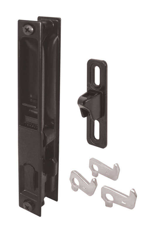 Prime-Line  Outdoor  Patio Door Handle Set  Metal