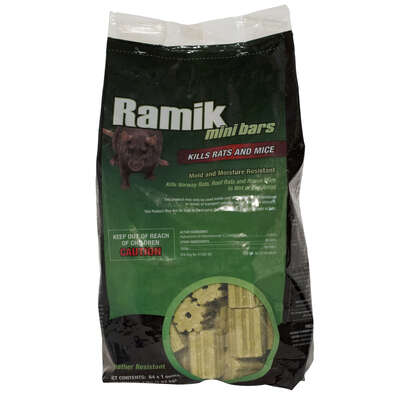 Ramik  Fish-Flavored  Bait  Blocks  For Mice and Rats 64 pk
