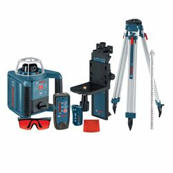 Bosch  Self Leveling Rotary Laser Kit  1000 ft. 12 pc.