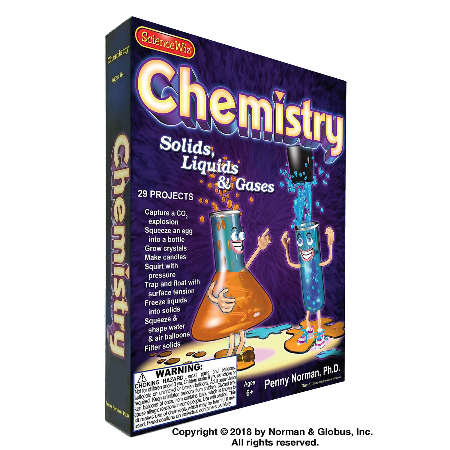 Science Wiz Chemistry Kit  Games/Science STEM Learning  Chemistry  1 pk