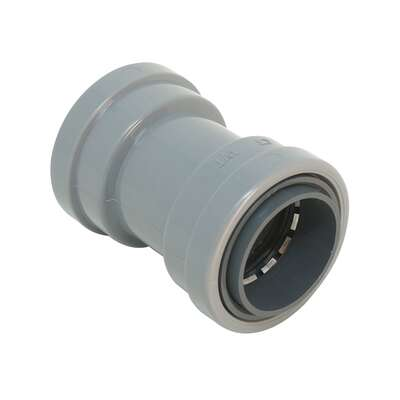SimPush 1/2 in. Dia. PVC Quick Connect Coupling For PVC 1 pk