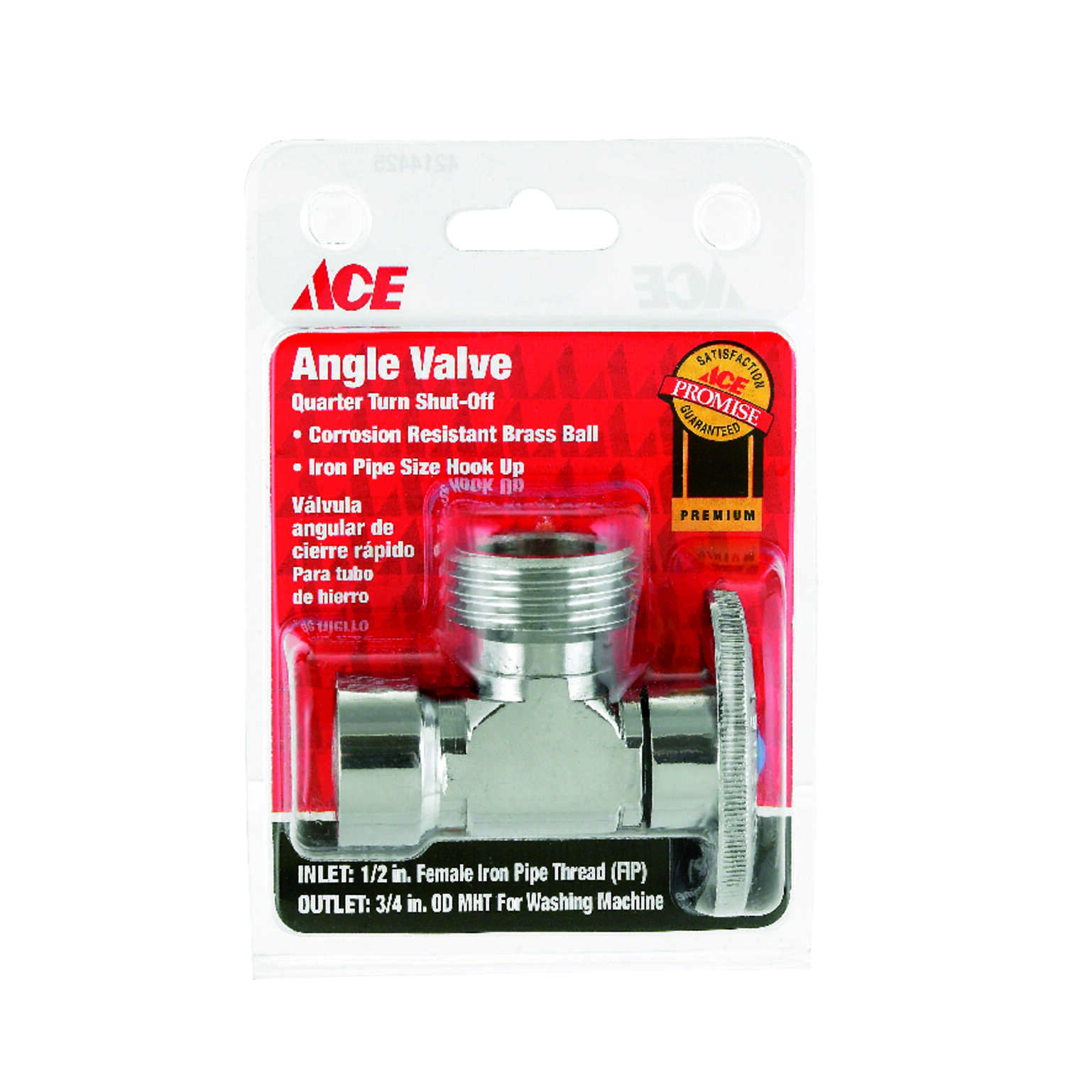 Ace  Shut-Off Valve  Brass