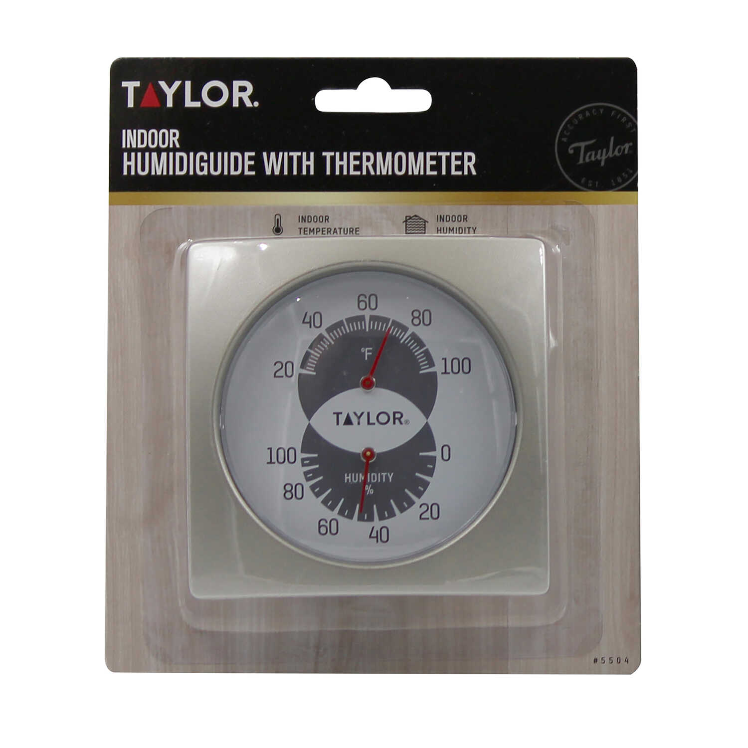 Taylor  Humidiguide and Thermometer
