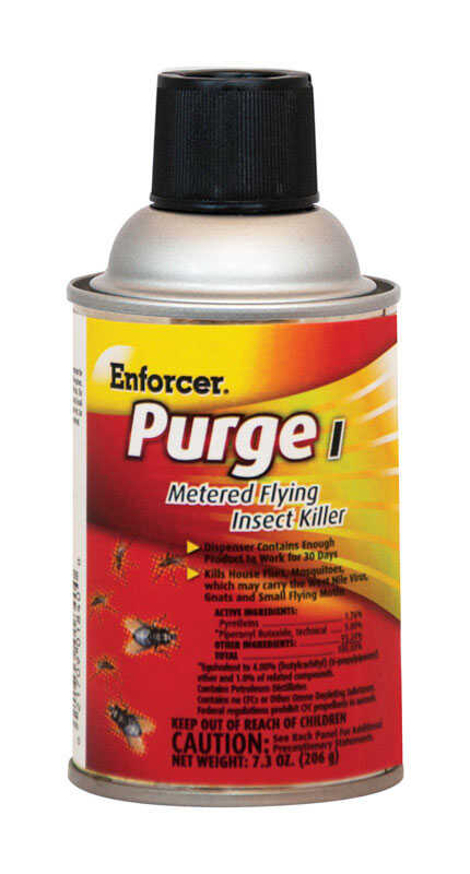 Enforcer  Purge 1  Metered Flying Insect Killer  7.3 oz.