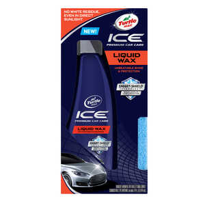 Ice  Liquid  Automobile Wax  14 oz. For Use On All Paint Surfaces