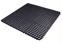 Flexgard 36 in. L x 36 in. W Black Nonslip Anti Fatigue Mat
