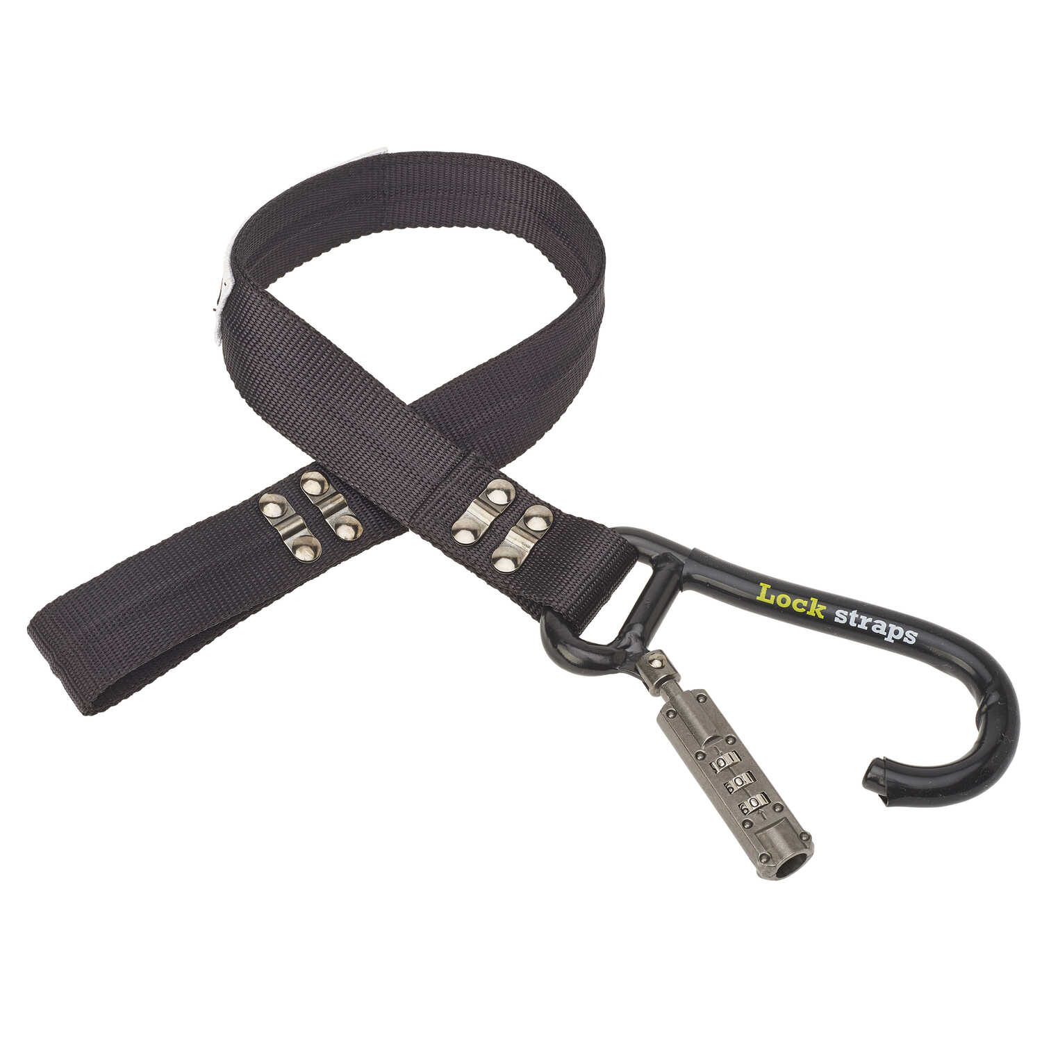 Keeper  LockStrap  2 ft. L Black  Tie Down Strap  500 lb. 1 pk