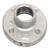 BK Products  1 in. FPT   Galvanized  Malleable Iron  Floor Flange
