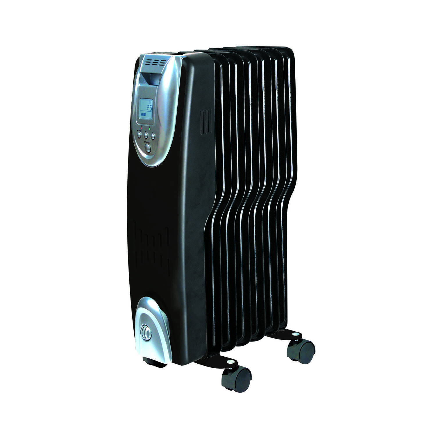 Soleil  215 sq. ft. Electric  Digital Oil Fill Radiator  Heater