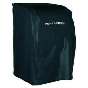 Portacool  36 in. H x 21 in. W Vinyl  Black  Evaporative Cooler Cover