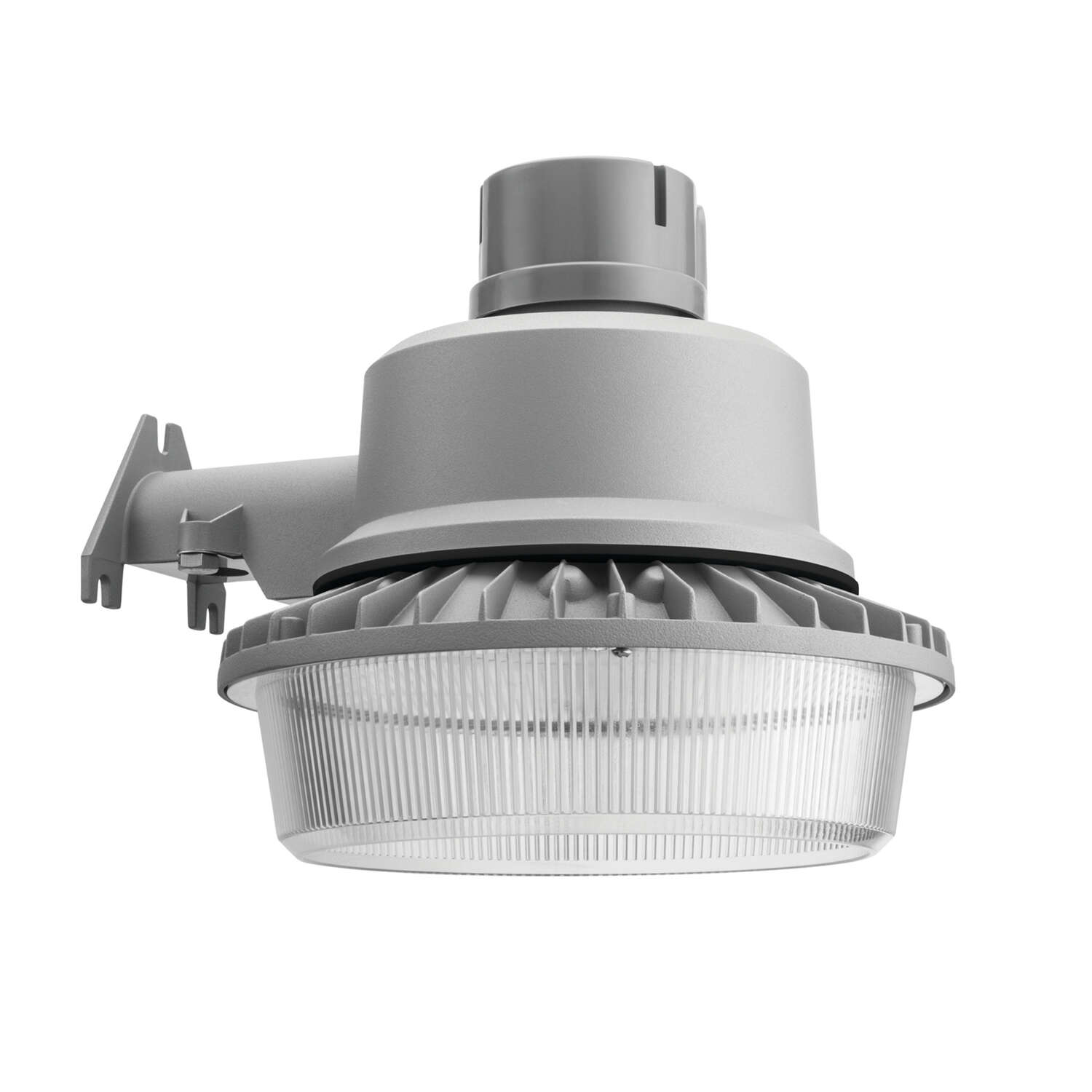 Lithonia Lighting  Dusk to Dawn  Gray  Area Light  Hardwired