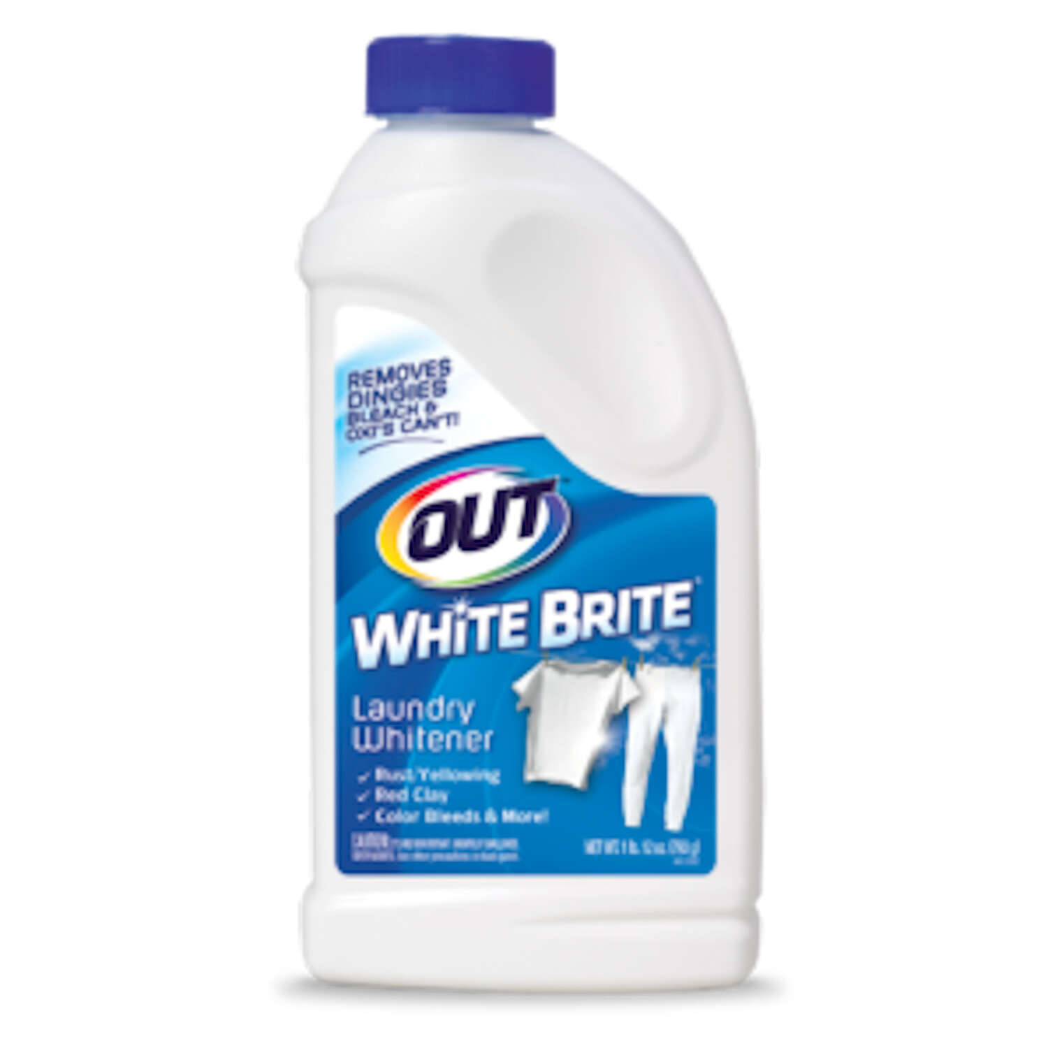 White Brite  No Scent Laundry Whitener  Powder  1 lb. 12 oz.  1 pk