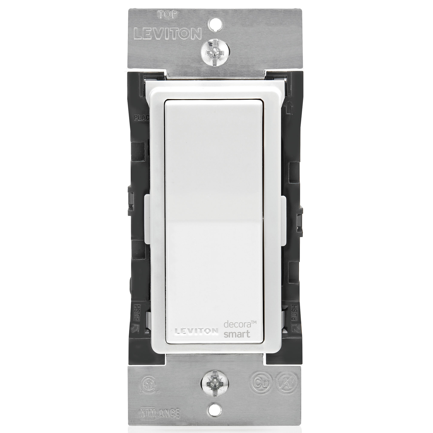 Leviton  Decora Smart  WiFi Smart  WiFi In-Wall Wireless Light Switch  1 pk Light Almond