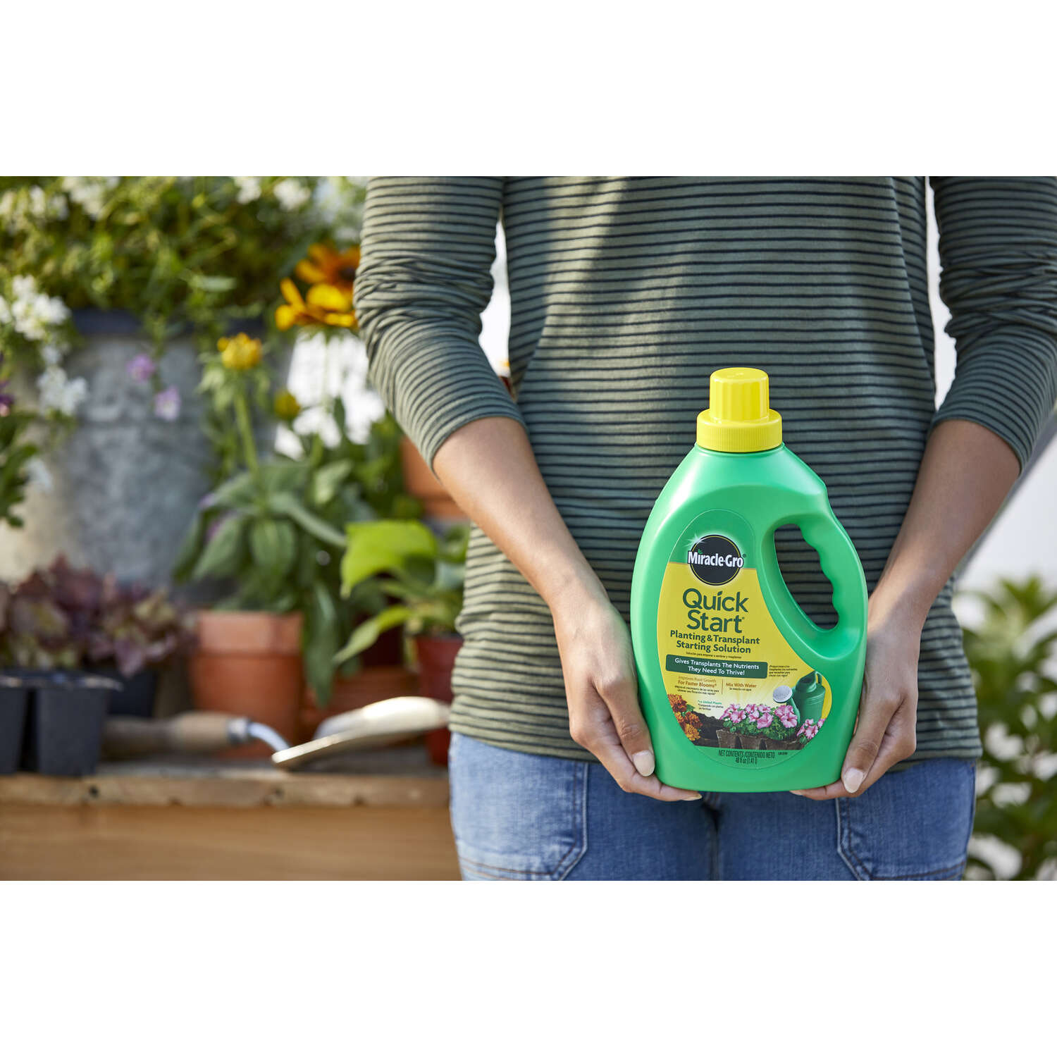 Miracle-Gro  Quick Start  Liquid  Organic Plant Food  48 oz.