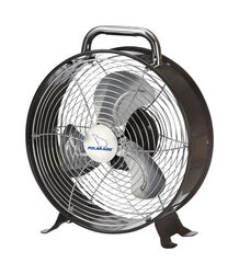 Polar Aire  9 in. H 2 speed Electric  Retro Drum Fan