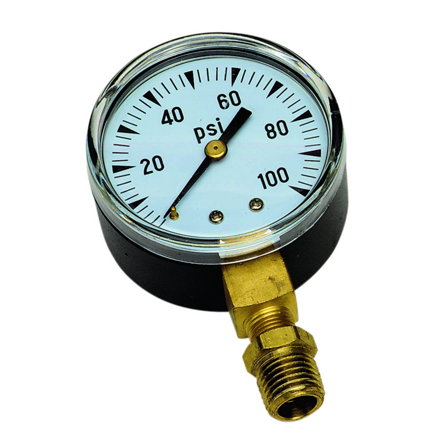 Parts 2O  2 in. 100 psi 100 psi Pressure Gauge  0