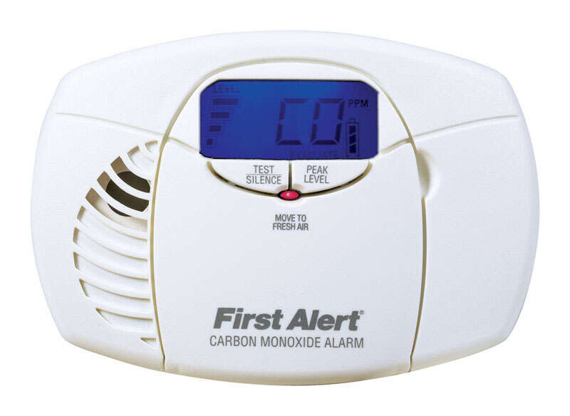 First Alert  Battery-Powered  Electrochemical  Carbon Monoxide Alarm