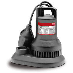 Ace 1/3 hp 3000 gph Thermoplastic Tethered Float AC Submersible Sump Pump