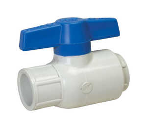 Spears  Ball  Utility Ball Valves  1 in. Slip   x 1 in. Dia. Slip  PVC