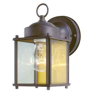 Westinghouse  Weathered  Incandescent  Wall Lantern