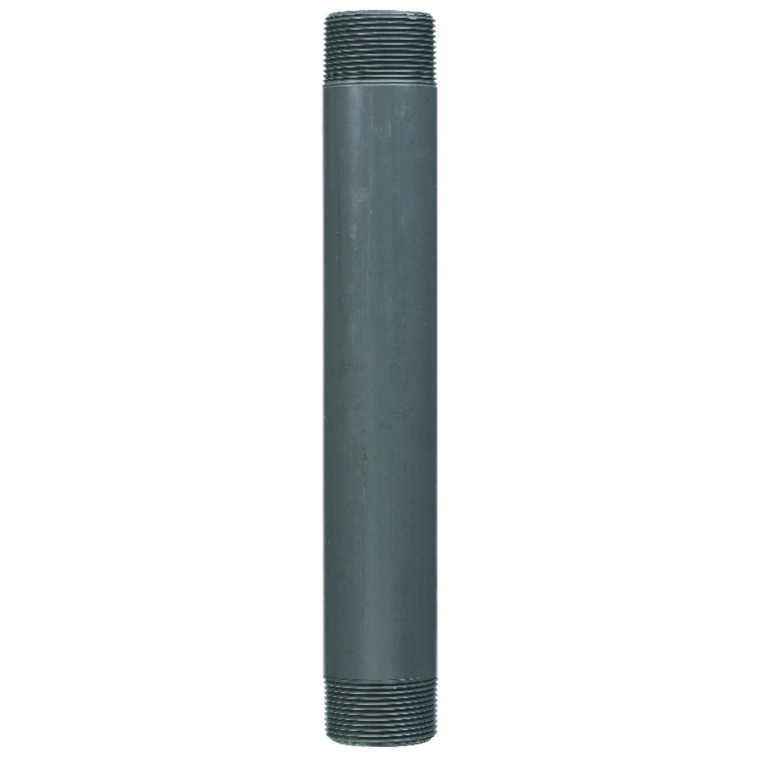 BK Products  Schedule 80  1-1/2 in. MPT   x 1-1/2 in. Dia. MPT  PVC  For Pressure Applications Pipe