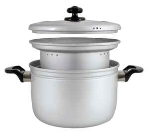 Heuck  Aluminum  Multi-Cooker  White  5.5