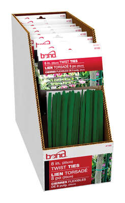 Bond  Green  Coated Wire  Ties
