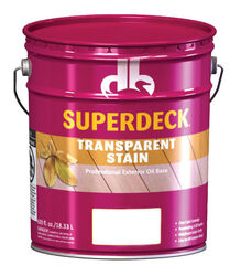 Superdeck  Transparent  Valley  Oil  Wood Stain  5 gal.