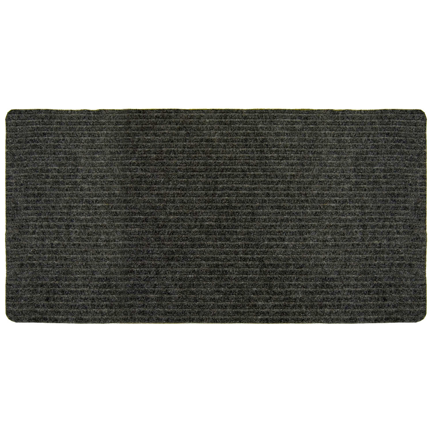 Multy Home  Charcoal  Polypropylene  Nonslip Utility Mat  60 in. L x 24 in. W