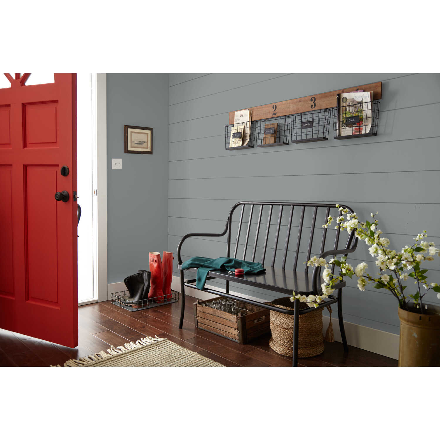 Magnolia Home  by Joanna Gaines  Eggshell  Times Past  Medium Base  Acrylic  Paint  Indoor  1 gal.