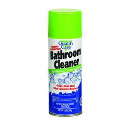 Quality Care  Lemon Scent Bathroom Cleaner  13 oz. Foam