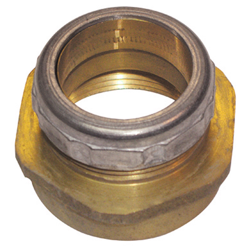Ace  1-1/4 in. Dia. x 1-1/2 in. Dia. Slip To Slip  Rough Brass  Brass  Waste Connector