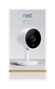 Google  Nest  Plug-in  Indoor  White  Wi-Fi Security Camera