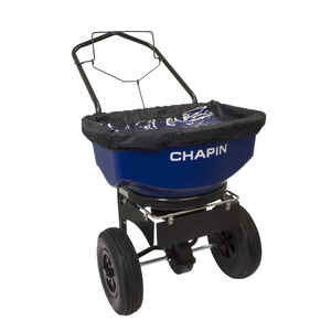 Chapin  14 in. W Push  Spreader  For Salt 80 lb. capacity