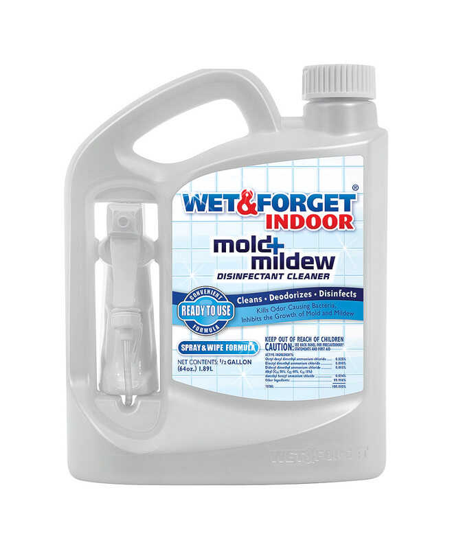 Wet and Forget  Indoor  Mold and Mildew Stain Remover  64 oz.