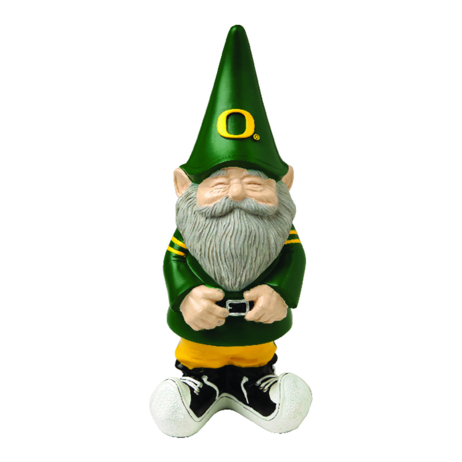 Evergreen  University of Oregon  garden Gnome  Poly Resin  1 pk