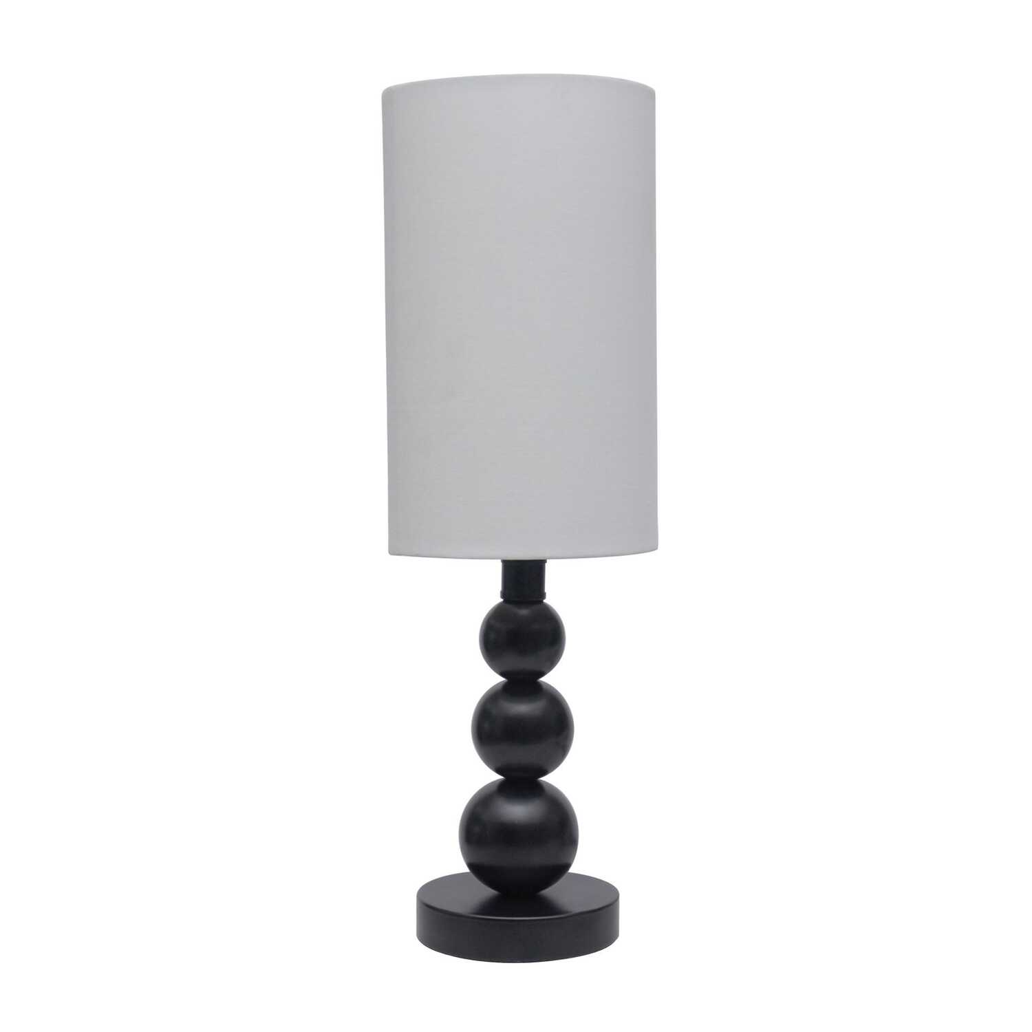 Living Accents  19 in. Satin  Table Lamp