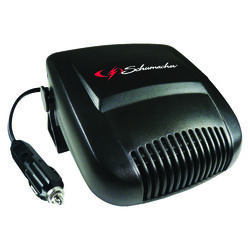 Schumacher  12 volt Black  Ceramic Heater and Fan  1 pk Automotive/ Car