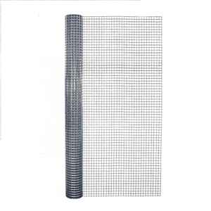 Garden Zone  36 in. W x 10 ft. L Silver Gray  Steel  Hardware Cloth