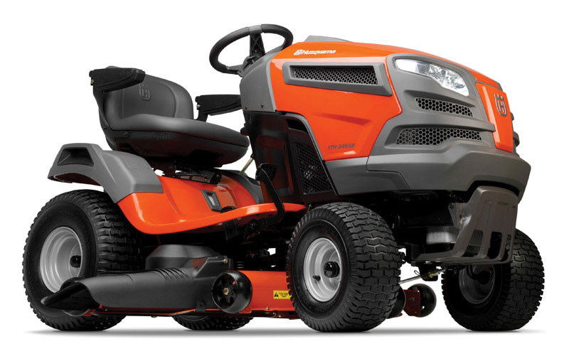 Husqvarna  48 in. W 724 cc Mulching Capability Riding  Lawn Tractor