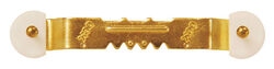 OOK  OOK ReadyNail  Brass-Plated  Sawtooth  Picture Hanger  40 lb. 3 pk