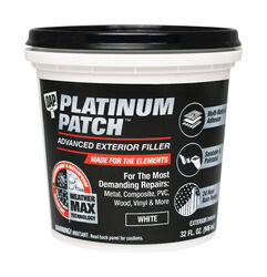 DAP Platinum Patch Ready to Use White Exterior Filler 32 oz.