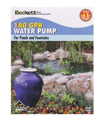 Beckett  160 gph 120 volt Fountain Pump