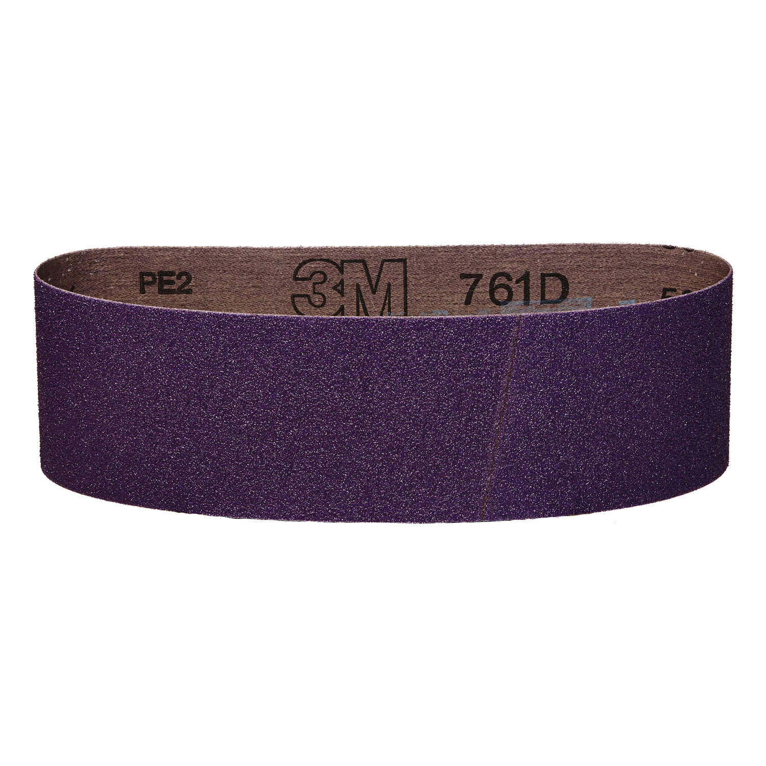 3M  18 inch  L x 3 in. W Ceramic  Sanding Belt  50 Grit 1 pk Coarse