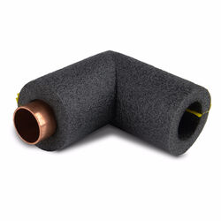 Armacell Tundra Self Sealing 3/4 in. x 1/2 in. L Polyethylene Foam Pipe Insulation Elbow