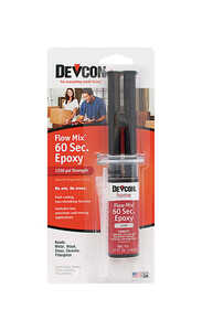 Devcon Home  Flow Mix 60 Second  High Strength  Epoxy  .47 oz.
