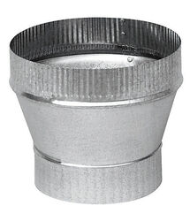 Imperial  3 in. Dia. x 5 in. Dia. Galvanized Steel  Stove Pipe Increa